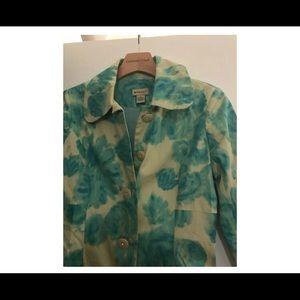 Anthropologie Jackets & Coats - Elevenses Anthropologie Floral Spring Jacket 4